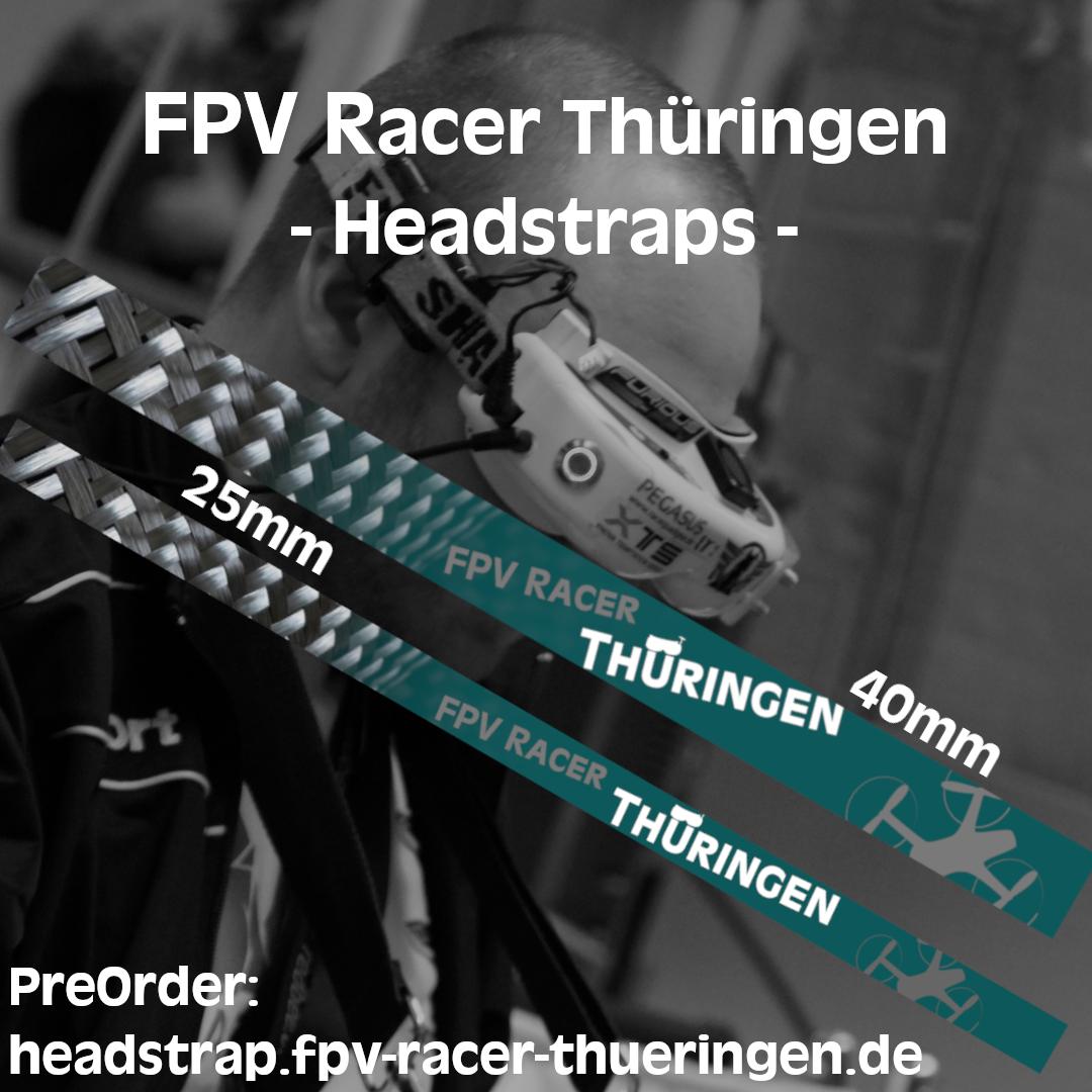 FPV Racer Thüringen Headstraps